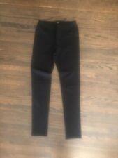 "NWOT Anthropologie Black Stretch Jean Leggings Size XS Inseam 27.5"""