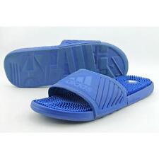 Sandali e scarpe ciabatte blu adidas per il mare da uomo