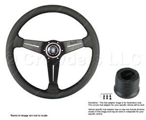 Nardi Deep Corn 350mm Steering Wheel + Hub for Ford 6069.35.2191 + .8501