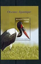 Togo 2006 Mnh acuático agua aves 1v S/s Oiseaux aquatique saddle-billed Stork