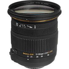 SIGMA 17-50mm Lente F2.8 EX DC OS HSM/EX DC HSM para cámaras DSLR Nikon