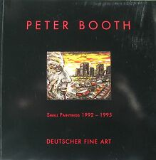 "PETER BOOTH AUSTRALIAN ""SMALL PAINTINGS"" CATALOGUE 1995 ""AS NEW"""