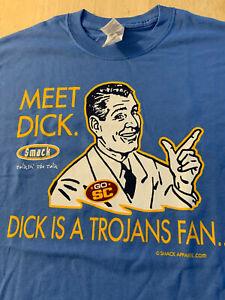 "Smack Talk Apparel UCLA Bruins vs SC Trojans ""Don't Be A Dick"" Tshirt-SHIPS FREE"