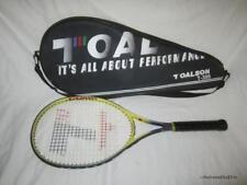 "Toalson Comp T-300 Yellow Tennis Racquet/Racket Grip size 4 3/8"" Vtg + case"