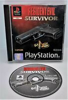 Resident Evil: Survivor Video Game for Sony PlayStation PS1 PAL TESTED