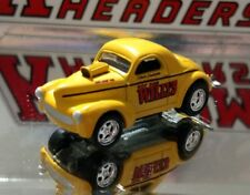 VINTAGE NHRA GASSER 1941 HOT ROD WILLYs COUPE 1/64 ADULT COLLECTIBLE LIMITED ED.