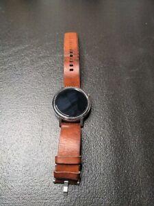 Motorola Moto 360 46mm Metal Case Brown Classic Buckle - (00565NARTL)