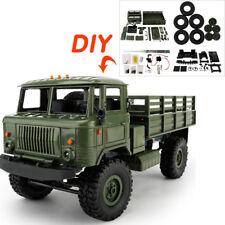 WPL B-24 1:16 4WD 4-Channels DIY Assemble Military Truck RC Crawler Car Toy