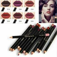 Women Waterproof Pencil Lipstick Pen Matte Lip Liner Long Lasting Beauty Makeup