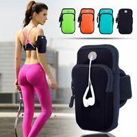 ❤️ Sports Cycling Arm Band Mobile Phone Key Holder Bag Running Armband Exercise