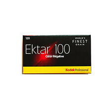 5 Rolls Kodak Professional Ektar 100 120 Color Negative  Film Fresh 2020