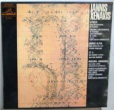 IANNIS XENAKIS ATREES-NOMOS ALPHA LP FRENCH EMI-AVANT-GARDE-EXPERIMENTAL-RARE