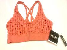 Victoria's Secret Victoria Sport Seamless Lounge Yoga Bralette Pink Small NWT