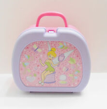 TINKERBELL HOLDING MIRROR LUNCHBOX - PINK & PURPLE