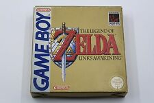 NINTENDO GAME BOY THE LEGEND OF ZELDA LINK'S AWAKENING COMPLETO PAL ESPAÑA