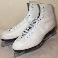 RIEDELL ICE FIGURE SKATES MK Sheffield Blades Size 11 Womens