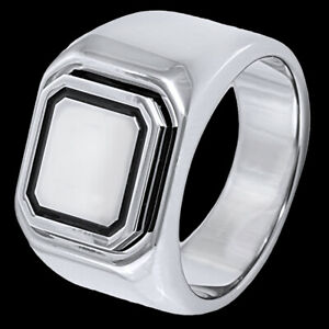 Men's Engravable Signet Tungsten 7mm Band High Polished Ring