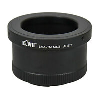 Adapter Mount Ring T Mount Telescope Lens to Camera Micro 4/3 Olympus Panasonic