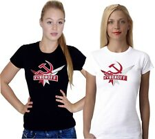 FUNNY CHRISTMAS BEER PISSED ALCOHOL PISSED RUSSIAN VODKA DRINK LADIES T SHIRT