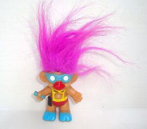 Figurine Doll Troll Doll Russ Diver Singer - Hair Roses 6 5/16in
