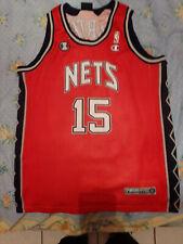 Vince Carter 15 New Jersey Nets Europa Tour NBA basketball Champion size L RARE