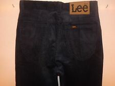 """Lee Corduroy vintage années 70 Dead Stock Jeans W26"""" L36"""" (ORIGINAL) 284"""