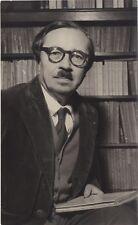 Jean Guéhenno escritor francesa Foto Prensa Interpress París Color plata 1955