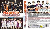 Haikyu!! Season 3 (Chapter 1 - 10 End) ~ All Region ~ Brand New ~ Haikyuu