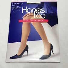 New Hanes Too Day Sheer Control Top Reinforced Toe 2Q Navy