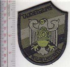 SCUBA Hard Hat Diving Germany Navy Diver Wilhelmshaven Navy Base Tauchergruppe a
