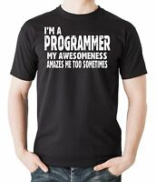 Gift For Programmer T-Shirt I Am A Programmer Tee Shirt Funny Cool Shirt
