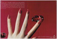 Publicité Advertising 1999 (2 pages) Renault Scénic Kaleido