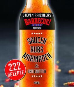 Saucen, Rubs und Marinaden & Grillbutter, Grillbuch Soßenbuch BBQ