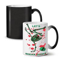 Skeleton Dance NEW Colour Changing Tea Coffee Mug 11 oz | Wellcoda