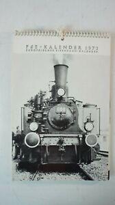 FdE - Kalender 1972 Europäischer Eisenbahn Kalender   B-15370