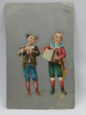 """Early 1900'S Embossed Valentine Post Card Made In Germany """"To My Valentine"""""""