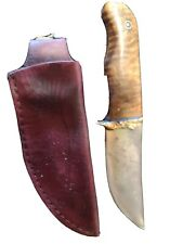 Custom hand made Otter shaped knife by world renowned knife maker Miles Martin