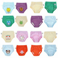 Simple 4PCS Baby Cloth Waterproof Diapers Toddler 4 Layers Potty Training Pants