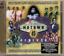 MOTOWN 40 FOREVER Various Artists NEW 2X CD SET (MOTOWN) CLASSIC MOTOWN SOUL