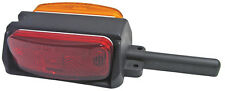 TWO - Optronics Red Amber Clearance Fender Light Marker Trailer RV BA44