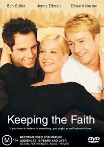 KEEPING THE FAITH starring Ben Stiller (DVD, 2002) - LIKE NEW!!!