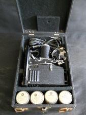 VINTAGE SVE PICTUROL MODEL Q 35mm PROJECTOR 1940s Coca-Cola AC Spark Plug Films