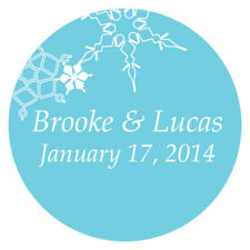36 Winter Finery Small Stickers Wedding Favor Seals