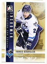 50ct Francis Beauvillier 2011-12 ITG H&P Hockey Update Rookie RC Lot #247