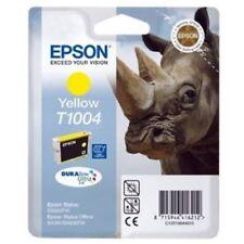C13T10044020 CARTUCCIA ORIGINALE EPSON T1004 GIALLO YELLOW