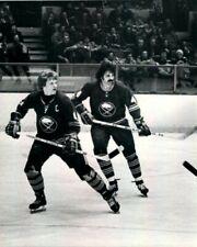 JERRY KORAB & JIM SCHOENFELD 8X10 PHOTO HOCKEY BUFFALO SABRES PICTURE NHL