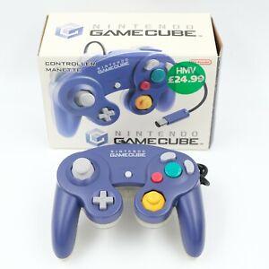 Nintendo GameCube Indigo / Clear Controller with Original Box