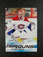 🔥🔥📈 CAYDEN PRIMEAU RC 19-20 UPPER DECK YOUNG GUNS ROOKIE CARD