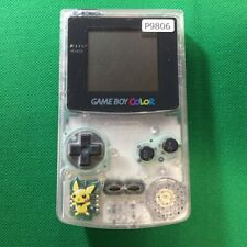 P9806 Nintendo Gameboy Color console Clear Japan GBC Express