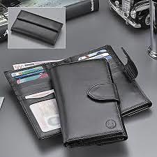 El Casco Women's Wallet in Black Leather